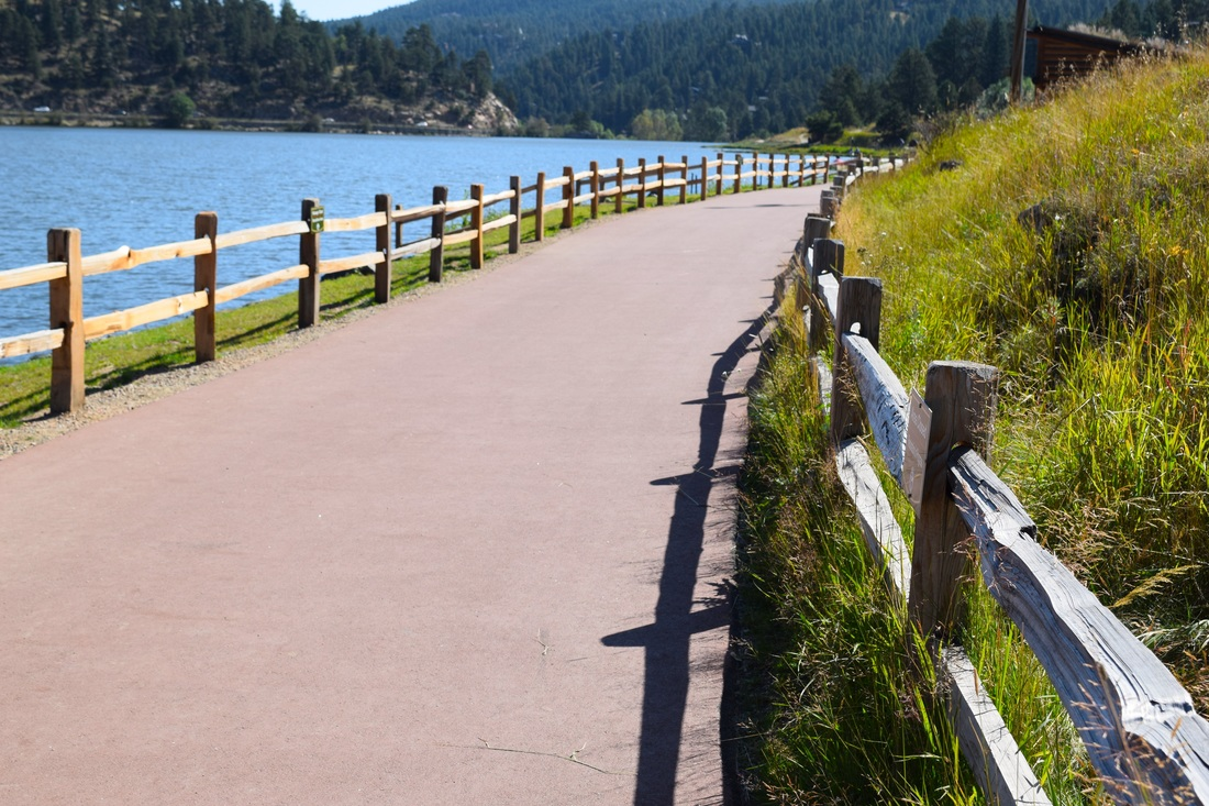 Evergreen Lake Trail, Evergreen, Colorado