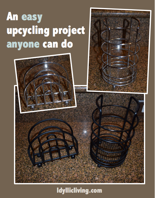 An easy upcycling project anyone can do